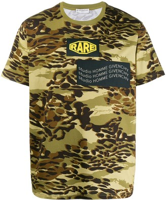 Givenchy camouflage print T-shirt
