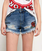Superdry Eliza Cut Off Shorts