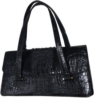 Reclaimed Vintage Black Crocodile Handbags