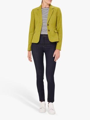 Hobbs Hackness Wool Jacket, Lime Green