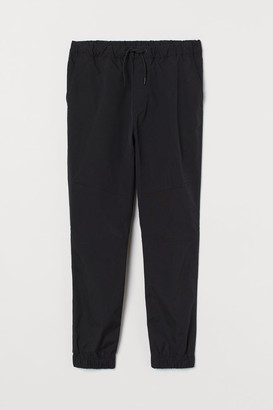 H&M Joggers with Sheen - Black
