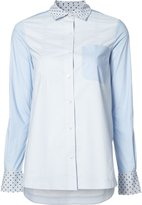 Derek Lam 10 Crosby embroidered dots shirt - women - Cotton - 8