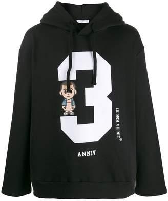 Ih Nom Uh Nit cartoon print hoodie