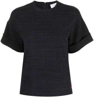 Victoria Victoria Beckham knitted cotton T-shirt