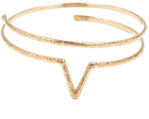 Natalie B Jewelry Wanderer Wrap in Brass