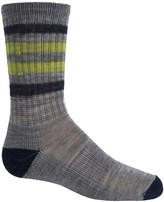 Smartwool Striped Light Hiking Socks - Merino Wool, Crew (For Little and Big Kids)