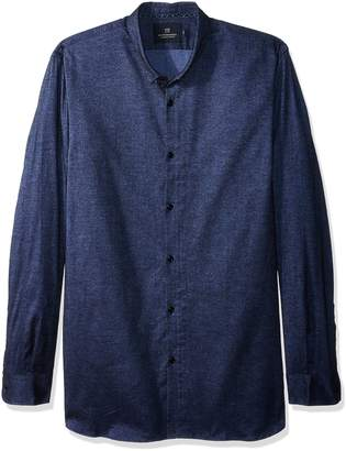 Scotch & Soda Men's Classic Shirt in Brushed Cotton Oxford Quality