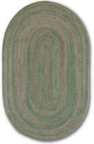 Colonial Mills Greenbrier Reversible Braided Wool Oval Runner Rug