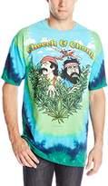 Liquid Blue Men's Cheech and Chong Field Of Dreams T-Shirt