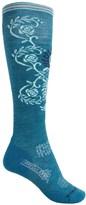 Smartwool PhD Ski Pattern Socks - Merino Wool, Over the Calf (For Women)