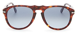 Persol Men's Round Sunglasses, 54mm
