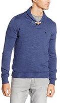 Otto Kern Men's Pullover-Schalkragen, 30302/43204 Plain Long Sleeve Jumper