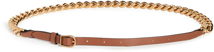Thumbnail for your product : Zimmermann Chain Leather Belt