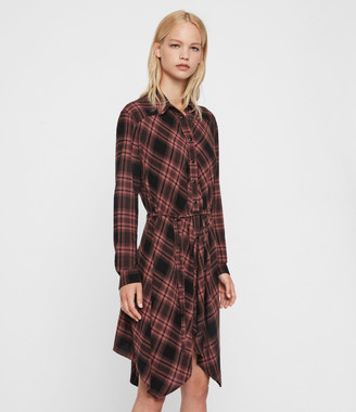 AllSaints Tala Check Dress