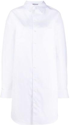 Balenciaga Oversized Shirt Dress