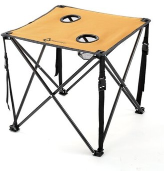 Folding Camping Table ARROWHEAD Outdoor Table Top Color: Tan