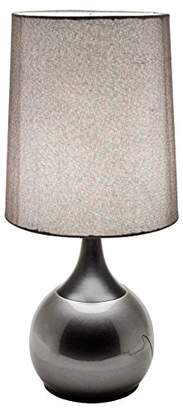 Febland Grey Colonnade touch Lamp, Metal, Champagne