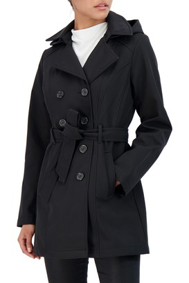 Sebby Softshell Double Breasted Trench