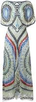 Temperley London long Aura dress - women - Silk/Nylon/Spandex/Elastane - 10
