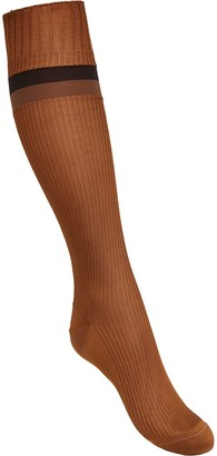 Fendi jacquard Pequin striped socks