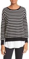 Joie Luus Layered Look Stripe Wool & Cashmere Sweater