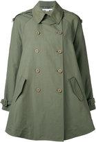 Stella McCartney double breasted jacket - women - Cotton/Polyamide/Linen/Flax - 36