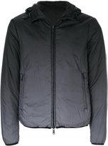 Armani Jeans ombré puffer jacket