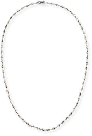 "David Yurman Men's Sterling Silver Continuance Cable Necklace, 25.8""L"