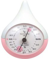 Tanita temperature and humidity meter Pink TT-510-PK