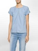 Calvin Klein Light Indigo Pullover Shirt