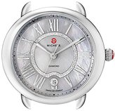 Michele Women's MW21B00A0061 Serein 16 Analog Display Swiss Quartz Silver Watch Head