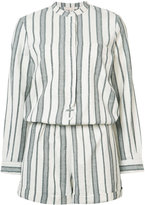 Vanessa Bruno woven stripe jumpsuit - women - Cotton - 40