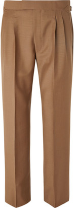 Maximilian Mogg Pleated Virgin Wool Trousers