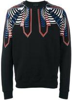 Les Hommes shoulder print sweatshirt