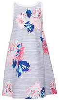 Joules Little Girls 3-6 Bunty Floral/Striped Dress