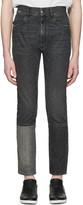 Maison Margiela Black Patchwork Jeans