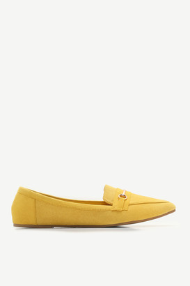 Ardene Faux Suede Pointy Loafers - Shoes  