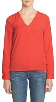 1 STATE Women's 1.state V-Neck Blouse