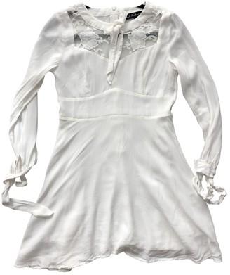 For Love & Lemons White Viscose Dresses