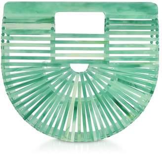 Cult Gaia Seaglass Acrylic Mini Ark Bag
