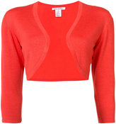 Oscar de la Renta bolero jacket - women - Silk/Virgin Wool - M