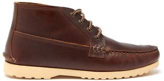 Quoddy Telos Leather Chukka Boots - Mens - Brown Multi
