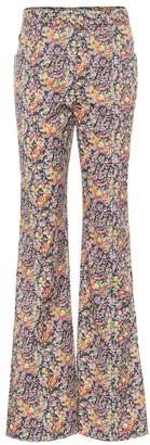 Philosophy di Lorenzo Serafini High-rise floral flared pants