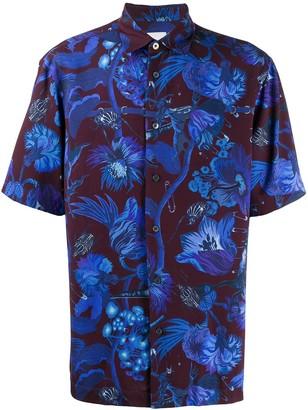 Paul Smith Floral Short-Sleeve Shirt