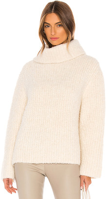 Theory Fold Over Neck Sweater