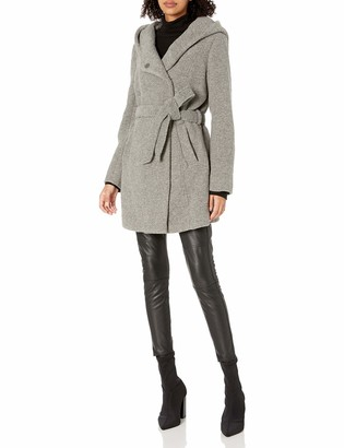 Andrew Marc Women's Flair Bealted Wool Jacket