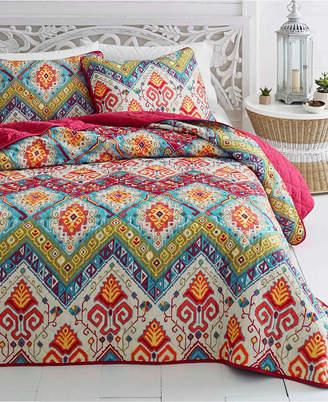 Azalea Skye Moroccan Nights Quilt Set, King Bedding