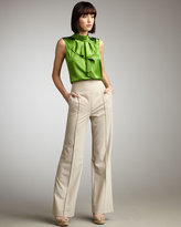 Magaschoni High-Waist Trousers