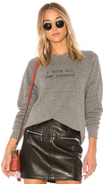 A Fine Line I Have All The Answers College Sweatshirt