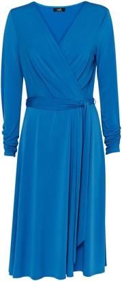 Wallis Blue Wrap Midi Dress
